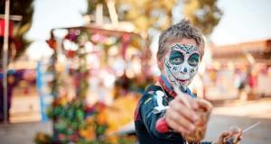 Festival no México dia de Los Muertos