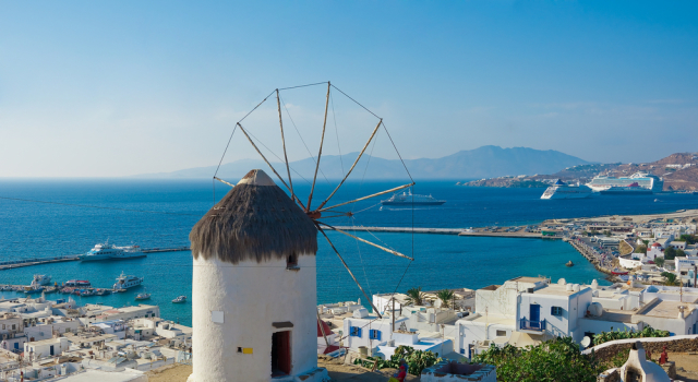 Moinhos de ventos - Mykonos
