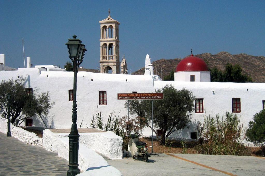 The monastery of Panagia Tourliani