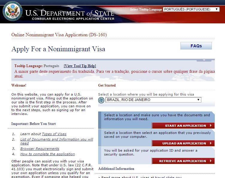 como tirar o visto para os estados unidos americano vivendo viajando