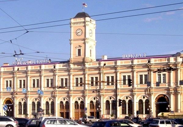 Estação de trem Moskovskaya, em São Petersburgo
