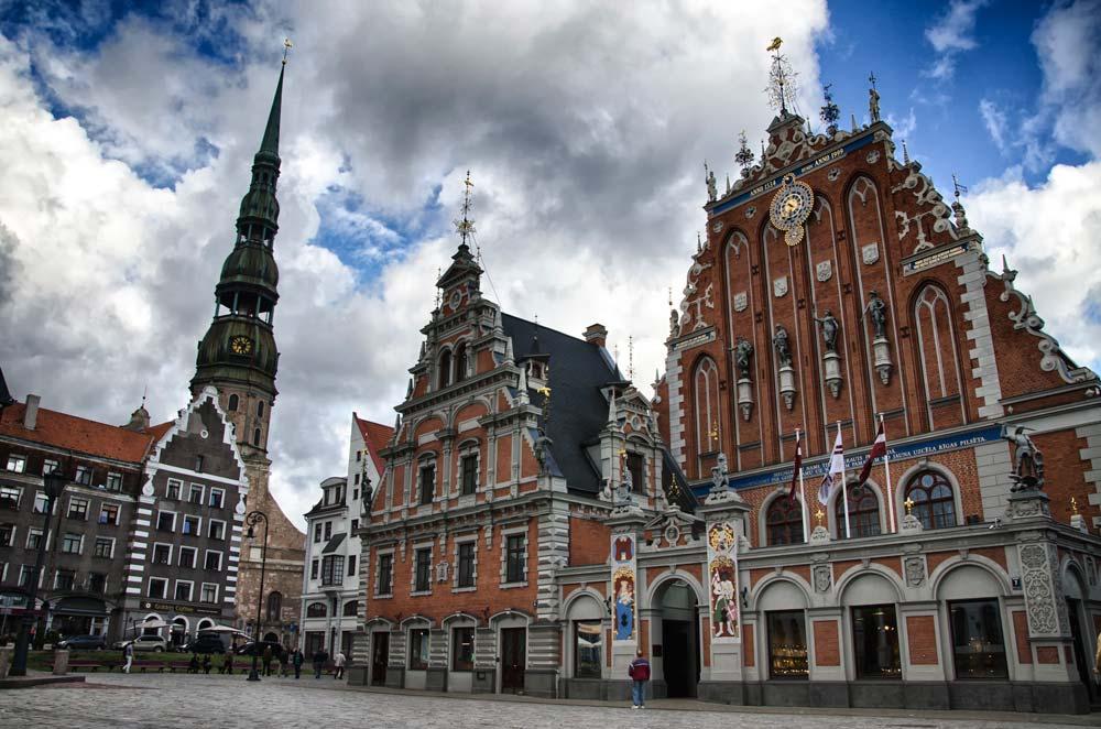 Casa dos Cabeças Negras em Riga, Letônia