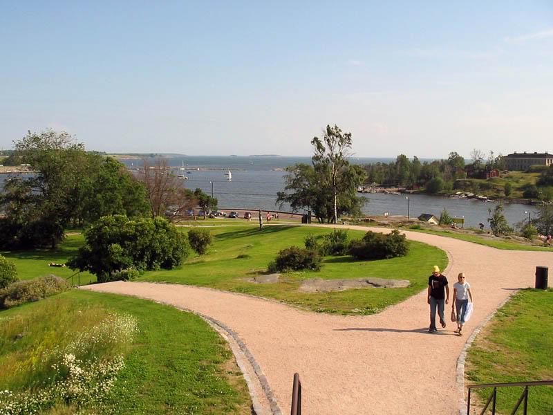 kaivopuisto parque em Helsinque - Finlândia