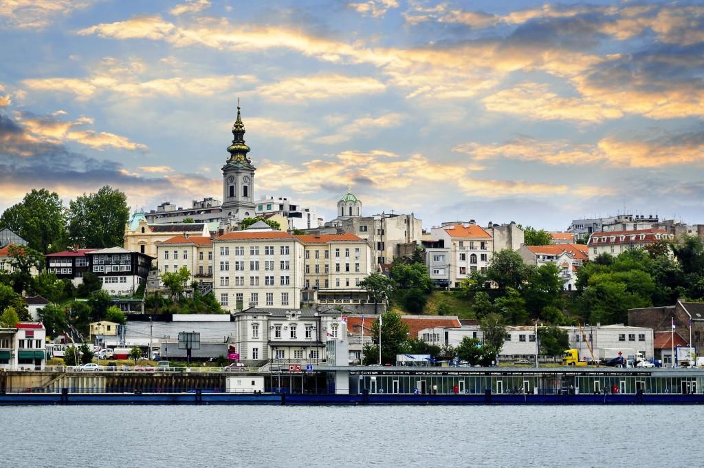 Old City em Belgrado, Sérvia