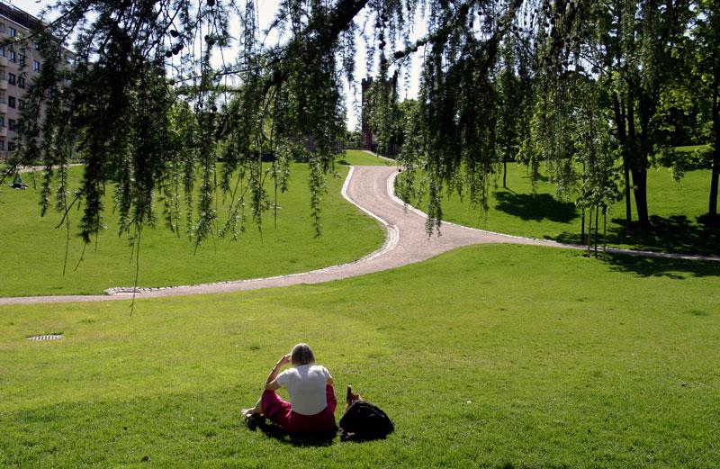 punavuori parque em helsinque finlândia