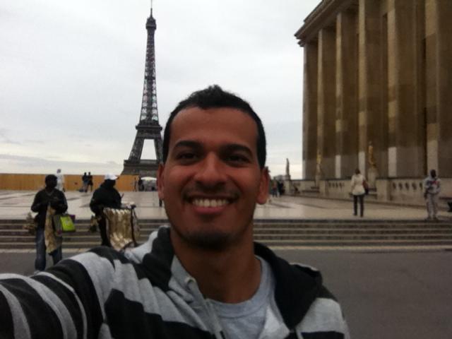 Selfie Torre Eiffel Paris