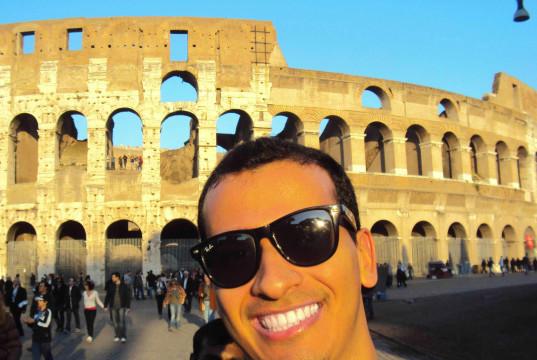 Selfie-Coliseu-Roma