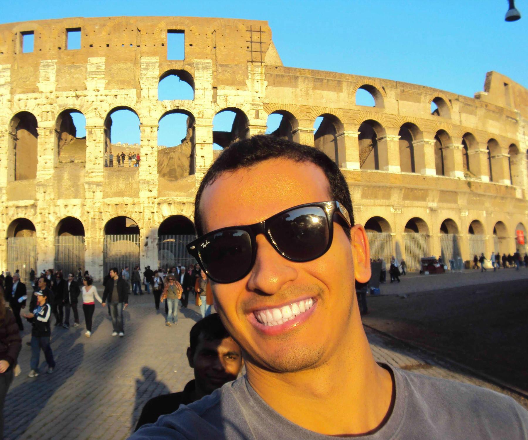 Selfie Coliseu Roma