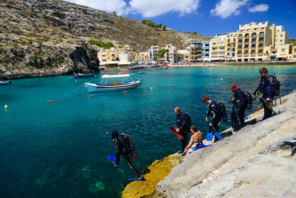 Xlendi-Bay-ilha-de-Gozo-Malta