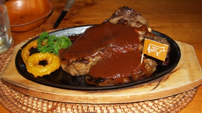 restaurante Zebra's African Steakhouse em Perth