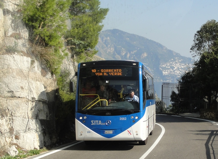 ônibus para Amalfi Itália