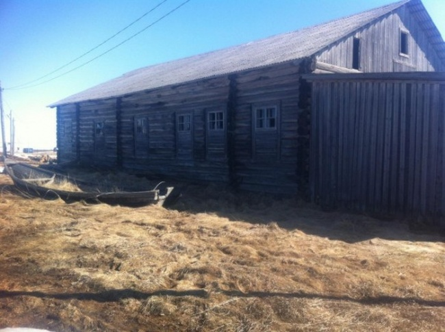 igreja no Ártico