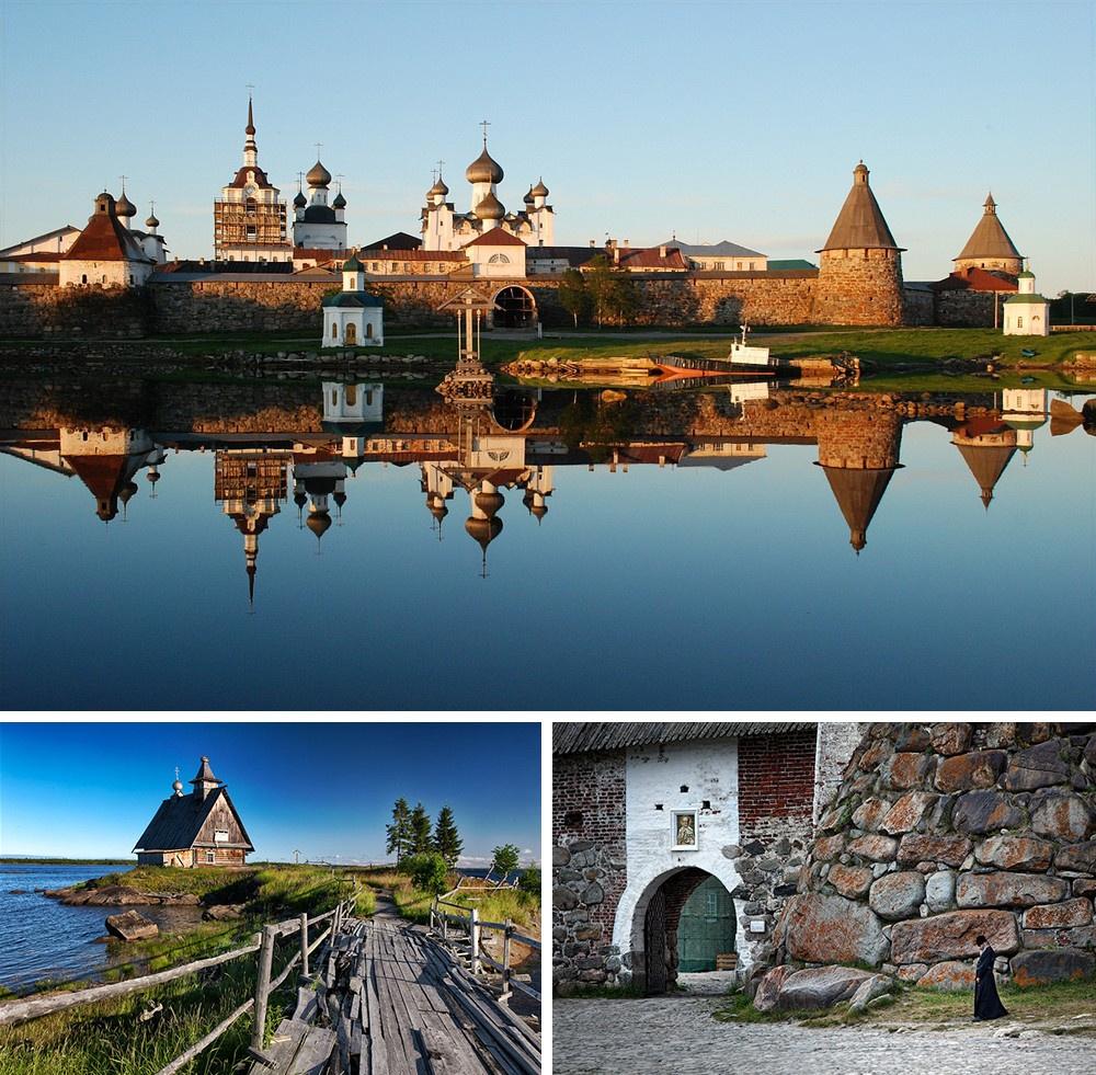 Ilhas de Solovetsky Rússia