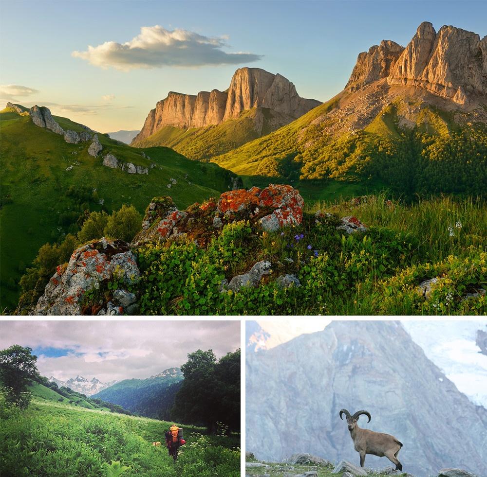 montanhas do Cáucaso Mar Negro