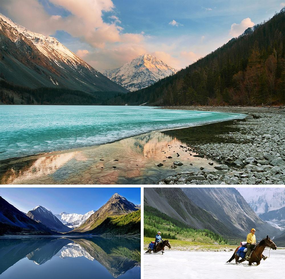 Monte Belukha Altai Rússia