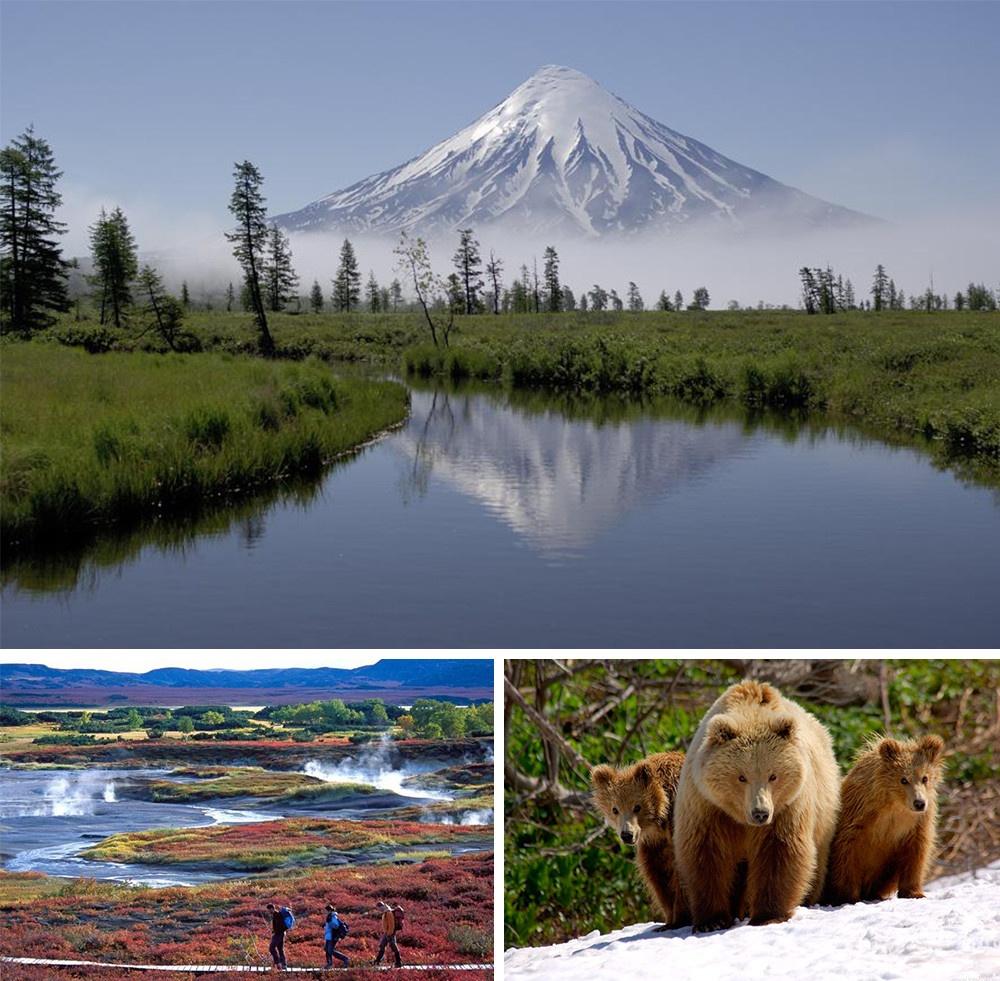 vulcão kronotsky Kamchatka Rússia
