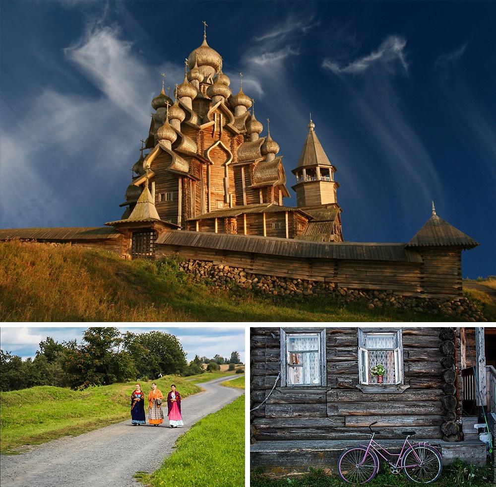 ilha de Kizhi Rússia