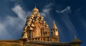 Kizhi ilha na Rússia