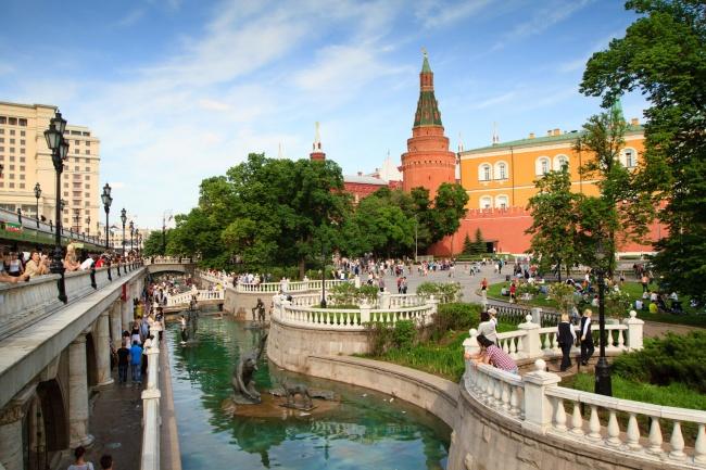 Jardim de Alexandre, Moscou, Rússia