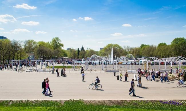 Gorky park Moscou Rússia