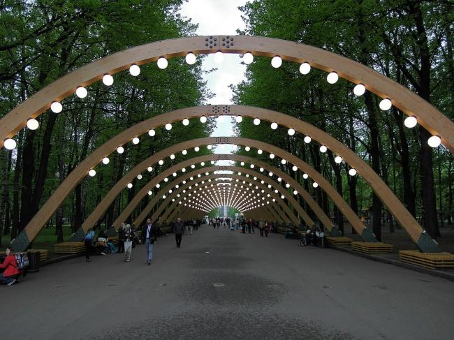 Sokolniki Park Moscou Rússia