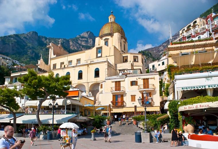 Igreja de Santa Maria Assunta, Positano, Itália