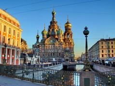 Igreja do Sangue Derramado São Petersburgo Rússia