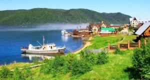 Lago Baikal Listvyanka Rússia