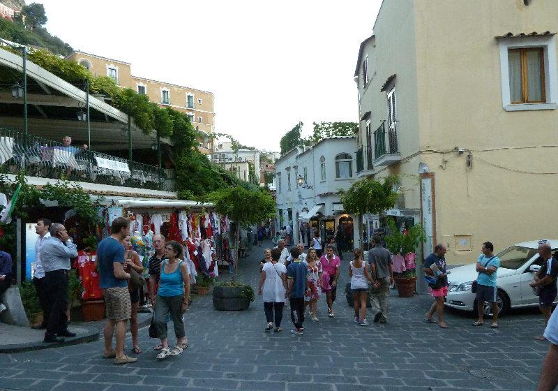 Piazza dei Mulini em Positano Costa Amalfitana