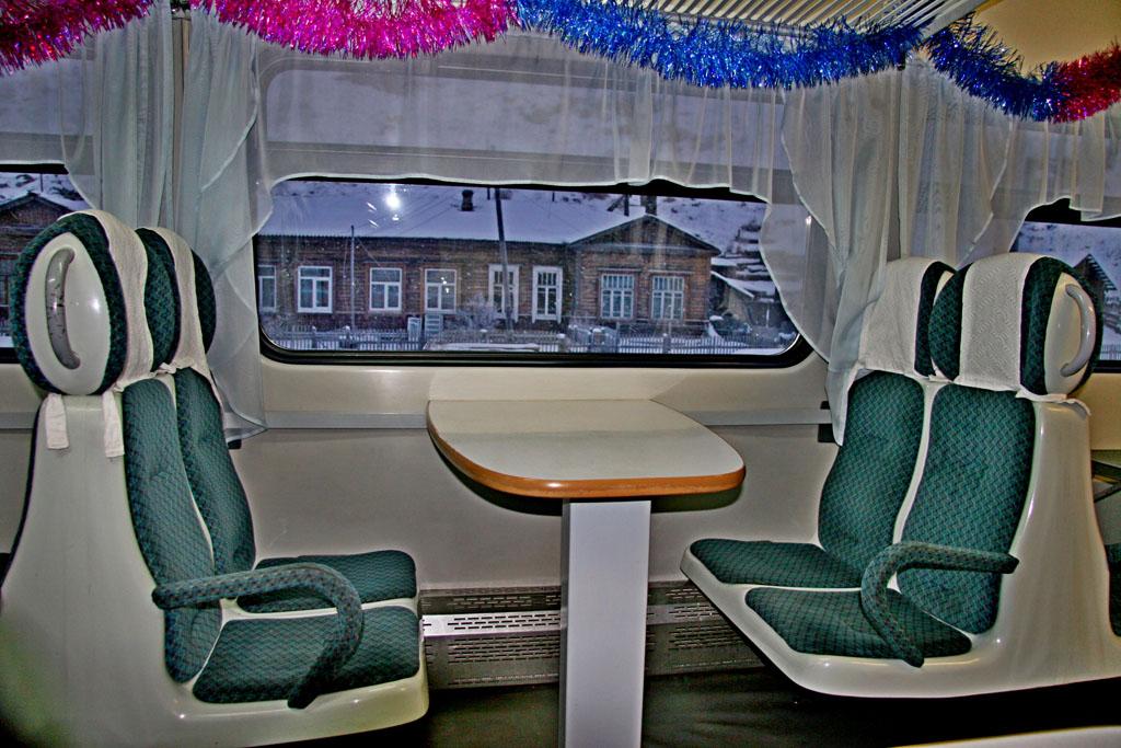 Trem da Ferrovia Circum-Baikal Rússia