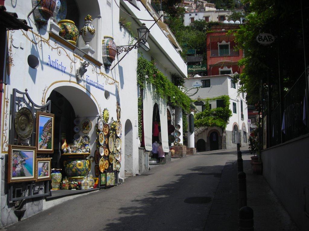 Viale Pasitea Positano Costa Amalfitana
