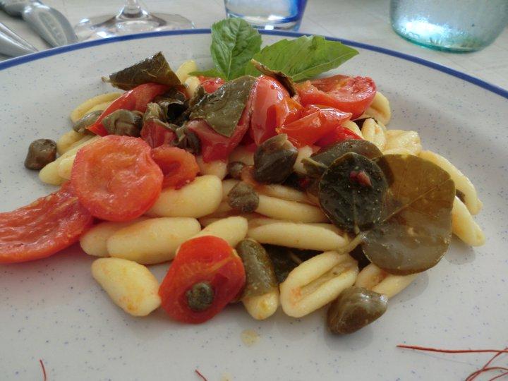 restaurante hotel bacco Furore Itália