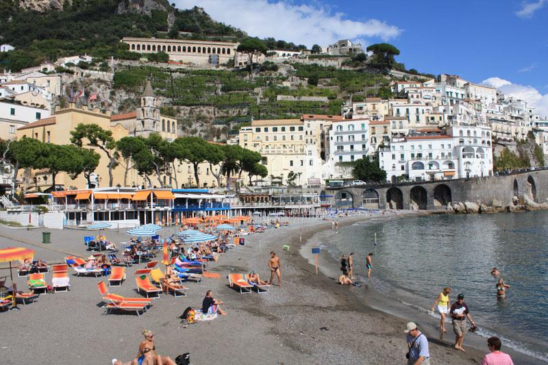 praia de Amalfi Itália